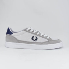 FRED PERRY/B6102/100 WHT/NV - フレッドペリー